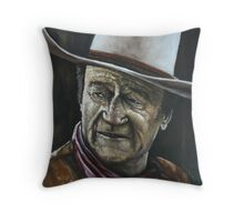 JOHN WAYNE-THE DUKE Throw Pillow