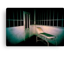 Blue asylom Canvas Print
