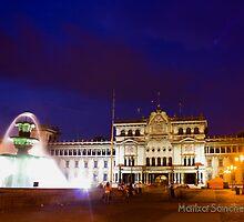 National Palace - Guatemala City Central Park by Miguel Avila