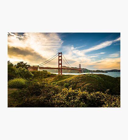 Golden Gate Sunset Photographic Print