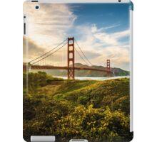 Golden Gate Sunset iPad Case/Skin