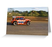 Racing Mini Greeting Card