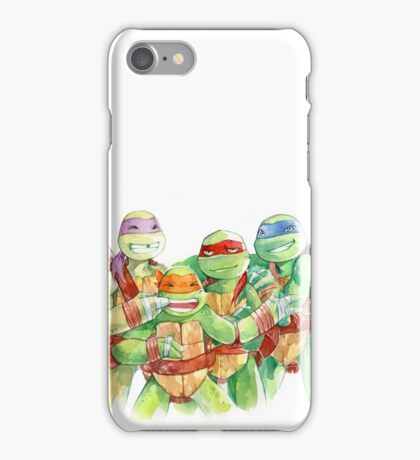 TMNT Watercolor iPhone Case/Skin