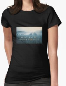 Lost in Serenity Womens Fitted T-Shirt