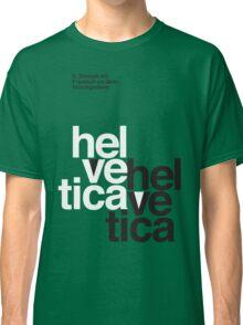 Helvetica T-Shirt - Orange Classic T-Shirt
