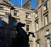 Saltire above City Chambers by justbmac
