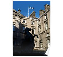 Saltire above City Chambers Poster