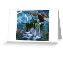 PARADISE GLORY Greeting Card