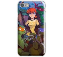 TMNT Team 5 iPhone Case/Skin