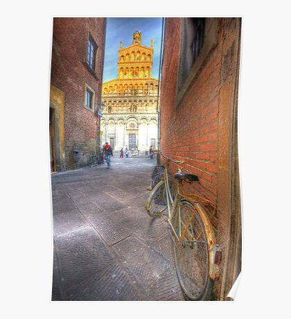 old lucca italy Poster