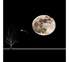 werewolf moon Photographic Print