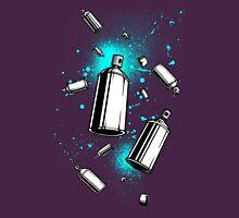 Spray Can Art Unisex T-Shirt