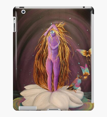 The Birth of Nelumbae iPad Case/Skin
