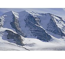 Piz Palu Switzerland Photographic Print