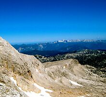 Blue Skies over Dachstein Glaciers by A. Kakuk
