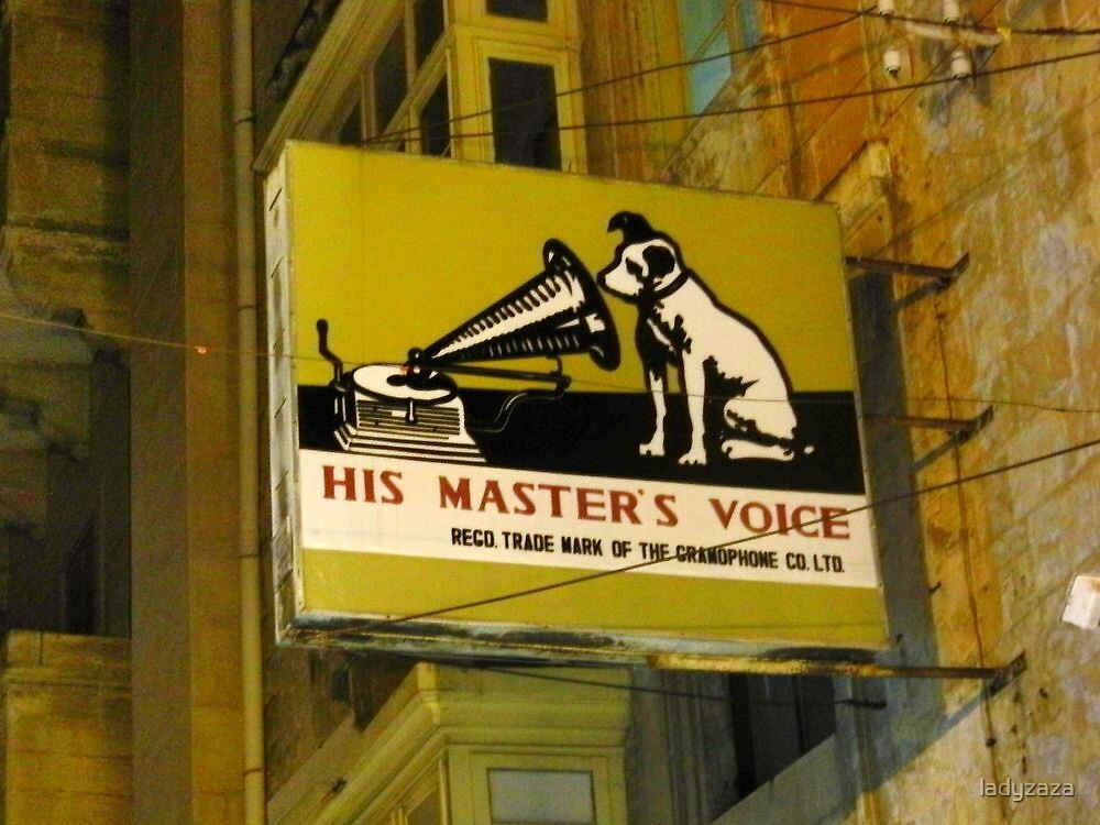 His Masters Voice now known as HMV by ladyzaza