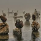 Inukshuk In The Mist by Bill Maynard