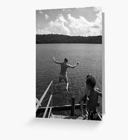 Local Hospitality - Lake Barrine FNQ Greeting Card