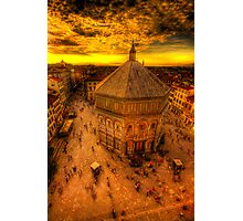Baptistery of st john Photographic Print