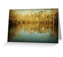 River Cypress Greeting Card