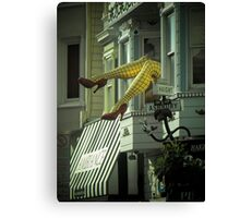 Don't Haight these legs Canvas Print