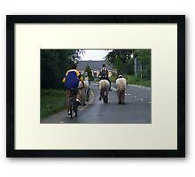 Irish Traffic-Jam Framed Print