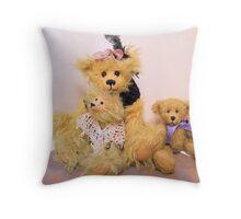 Pretty Girls (Bears) Throw Pillow