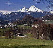 The Watzmann - Berchtesgaden Germany by David J Dionne