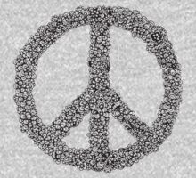 Peace Sign One Piece - Long Sleeve