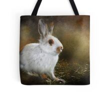 Woolie the Snowshoe Hare Tote Bag