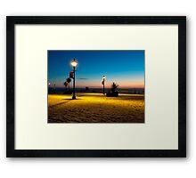 Hull Pier Framed Print