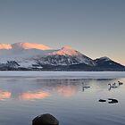 Bassenthwaite Lake Winter by Jacqueline Wilkinson