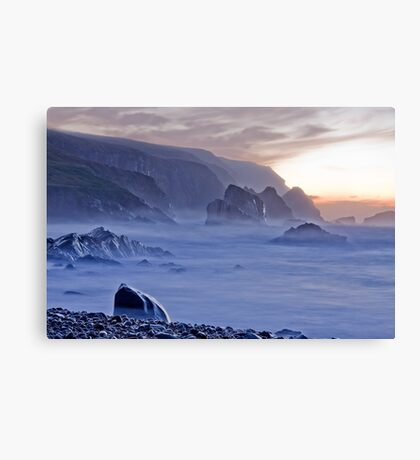 Port sundown glencolmcille Canvas Print