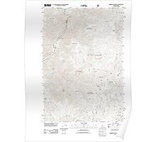 USGS Topo Map Idaho Kirkwood Creek 20110809 TM Poster