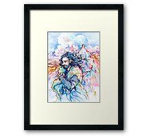 A King's Dream Framed Print