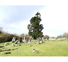 Irish Graveyard Photographic Print