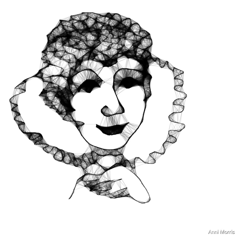Lynnette's Fun Online Sketchy Thing...Scribbler My 15 second scribble by Anni Morris