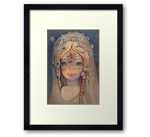 The Selkie Princess Framed Print