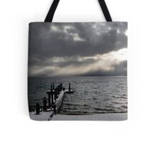 Tahoe Snowstorm Tote Bag