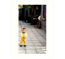 Beijing cutie Art Print