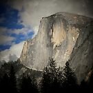 Half dome rising by Crystal Fobare