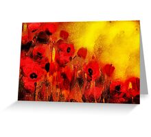 Poppy reverie'... Greeting Card
