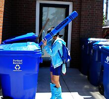 Recycling is BLUE by enigmaticcow