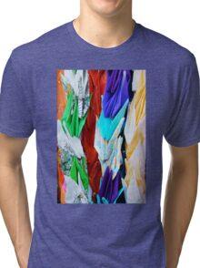 Paper Cranes 1 Tri-blend T-Shirt
