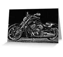 Harley-Davidson Fatboy Greeting Card