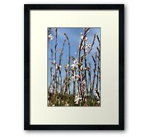 Grow with friends Framed Print