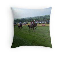 Kinsale Races, Cork, Ireland Throw Pillow