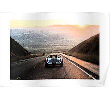 1955 Porsche 550 Spyder Poster