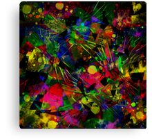 Spiky Psychedelic  Canvas Print