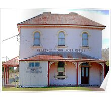 Clarence Town Post Office - Circa 1860 Poster